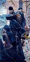 """Painting: P. Ryjenko """"Bretheren"""""""