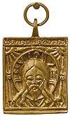 Baptismal medallion: Holy Napkin - 3