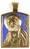 Baptismal medallion: St. Seraphim of Sarov - 1