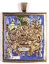 Baptismal medallion: no.101
