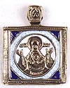 Baptismal medallion: no.173