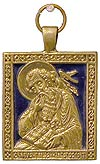 Baptismal medallion: Holy Apostle and Evangelist St. John