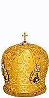 Mitres: Embroidered Bishop mitre - 58
