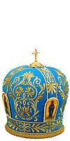 Mitres: Embroidered Bishop mitre - 67