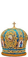 Mitres: Embroidered Bishop mitre - 69