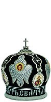 Mitres: Embroidered Bishop mitre - 70