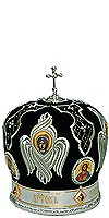 Mitres: Embroidered Bishop mitre - 75