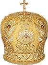 Mitres: Embroidered Bishop mitre - 62