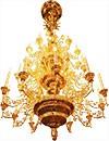 Four-level chandelier - 22 (42 lights)