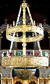 Greek Orthodox two-level horos (26 lights) - 2
