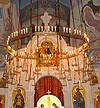 Greek Orthodox horos with pendants (60 lights)