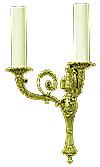 Church wall lamp - 420-2 (2 lights)