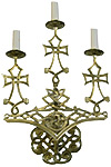 Church wall lamp - 424 (3 lights)