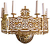 Сhurch wall lamp - 438 (6 lights)