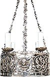 Church chandelier (khoros) (4 lights)