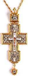 Pectoral chest cross no.35