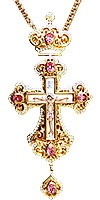 Pectoral chest cross no.75