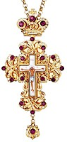 Pectoral chest cross no.72