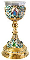 Communion cups: Chalice - 40 (0.5 L)