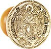 Orthodox prosfora Theotokian seal 'Theotokos the Grower of the grains' no.348 (75 mm)