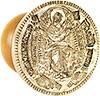 Orthodox prosfora Theotokian seal 'Theotokos the Grower of the grains'