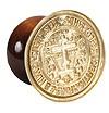 "Russian Orthodox prosphora seal Golgotha (1.8-3"" (45-75 mm))"