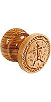 Russian Orthodox prosphora seal NIKA seal no.17 (Diameter: 60-120 mm)