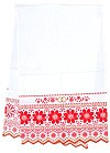 Embroidered Wedding towel (roushnik)