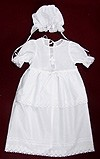 Milana embroidered baptismal clothes for girls