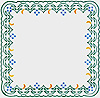 Embroidered napkin - 9315
