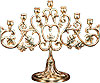 Small table seven-branch candelabrum - 2