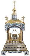 Orthodox  tabernacles: Tabernacle no.6a (filigree)