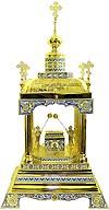 Orthodox  tabernacles: Tabernacle no.6c (filigree)