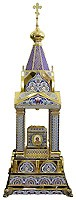 Orthodox  tabernacles: Tabernacle no.10 (enamel)