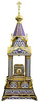 Orthodox  tabernacles: Tabernacle no.10a (enamel)