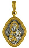 Medallion Theotokos of Vladimir