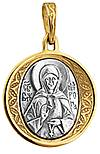 Baptismal medallion: Blessed Matrona