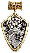 Baptismal medallion: St. Pantheleimon