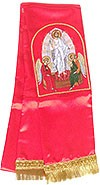 Resurrection of Christ embroidered bookmark