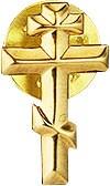 Greek baptism pin Cross - 2