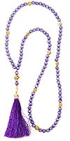 Orthodox prayer rope 100 knots - Cat's eye
