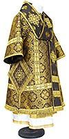 Bishop vestments - metallic brocade BG1 (black-gold)