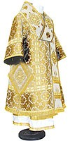 Bishop vestments - metallic brocade BG1 (white-gold)