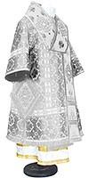 Bishop vestments - metallic brocade BG1 (white-silver)