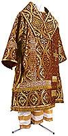 Bishop vestments - metallic brocade BG2 (claret-gold)