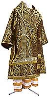 Bishop vestments - metallic brocade BG2 (black-gold)