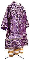 Bishop vestments - metallic brocade BG2 (violet-silver)