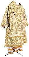 Bishop vestments - metallic brocade BG2 (white-gold)