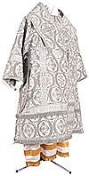 Bishop vestments - metallic brocade BG2 (white-silver)