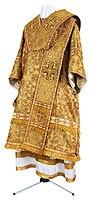 Bishop vestments - metallic brocade BG3 (yellow-gold)